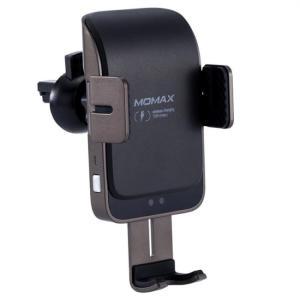 Momax Q.Mount Infrared Sensor Clamping Wireless Car Mount (Black)