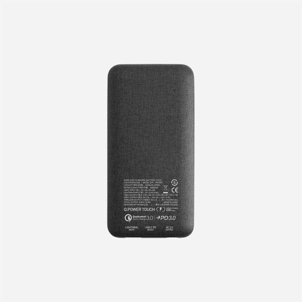 Momax Q.Power TOUCH Q.Power Wireless External Battery Pack 10000mAh - Dark Grey