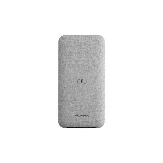 Momax Q.Power TOUCH Q.Power Wireless External Battery Pack 10000mAh - Light Grey