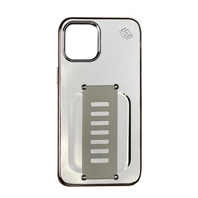 Grip2u Slim for iPhone 12 Pro Max (Tinsel Silver)