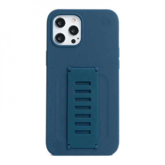 Grip2u Silicone Case for iPhone 12/12 Pro (Navy) 810041391667