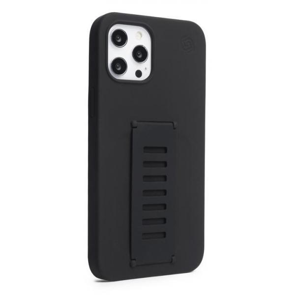Grip2u Silicone Case for iPhone 12/12 Pro (Charcoal) 810041391650