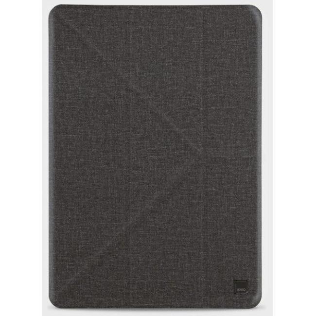 Uniq Yorker Kanvas Plus New Ipad Air (2019) - Obsidian Knit (Black) #8886463669389*