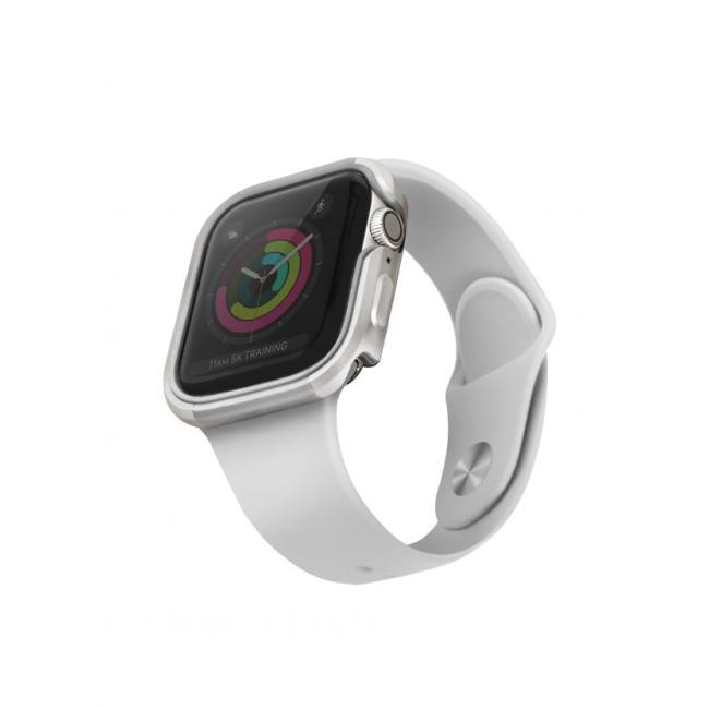 Uniq Valencia Watch Case For Apple Watch 40Mm - Titanium (Silver) #8886463671153*