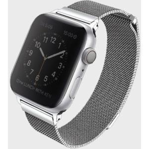Uniq Dante Apple Watch Series 4 Mesh Steel Strap 44Mm – Sterling(Silver) #8886463669716*
