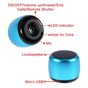Angusen 3W Mini Speaker -Pink