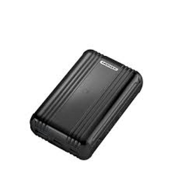 Momax Q.Powergo External Battery Pack- With Lightning To Type-C Cable -1.2M 10000Mah Black
