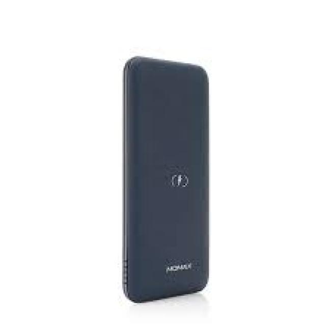 Momax Q.Power TOUCH Q.Power Wireless External Battery Pack 10000mAh - Blue
