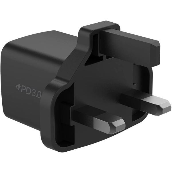 Momax ONE Plug Mini USB-C Charger 20W Black