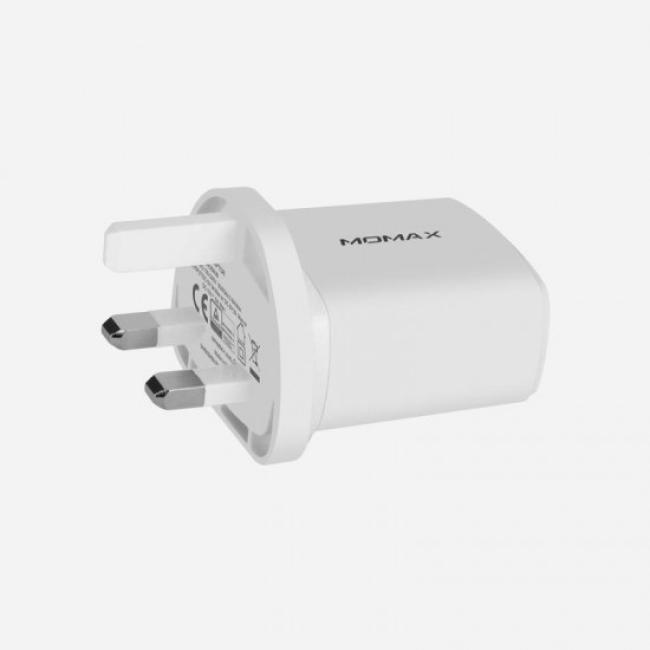 Momax ONE Plug Mini USB-C Charger 20W White