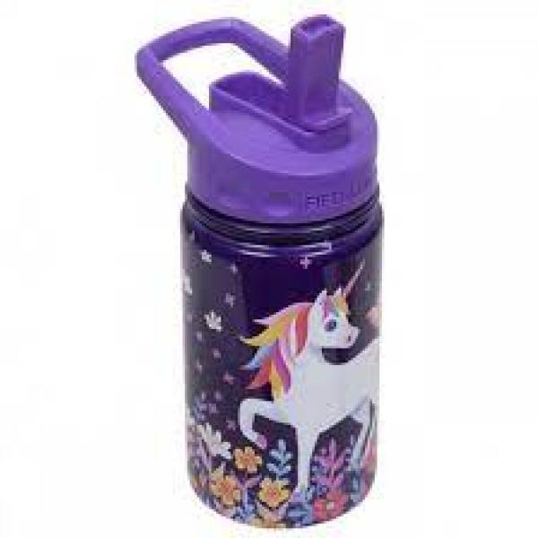 Fifty Fifty Kids Bottle Straw Lid 350ml -Unicorn