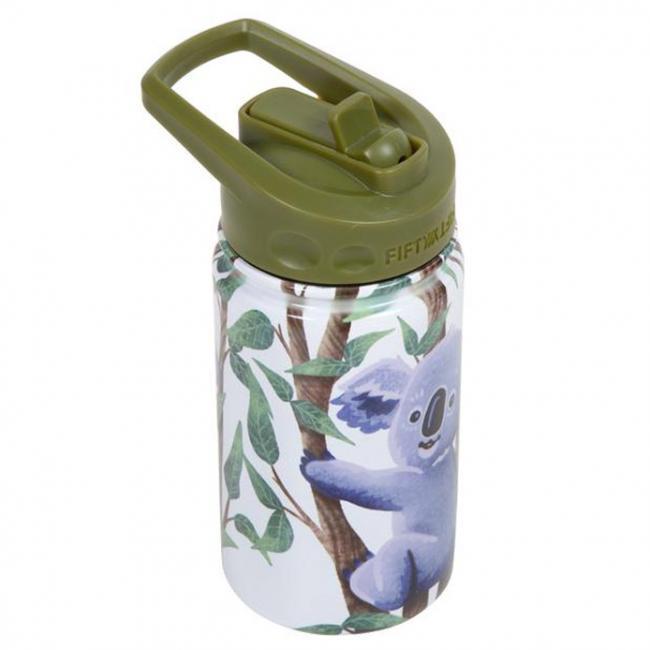 Fifty Fifty Kids Bottle Straw Lid 350ML -Koala