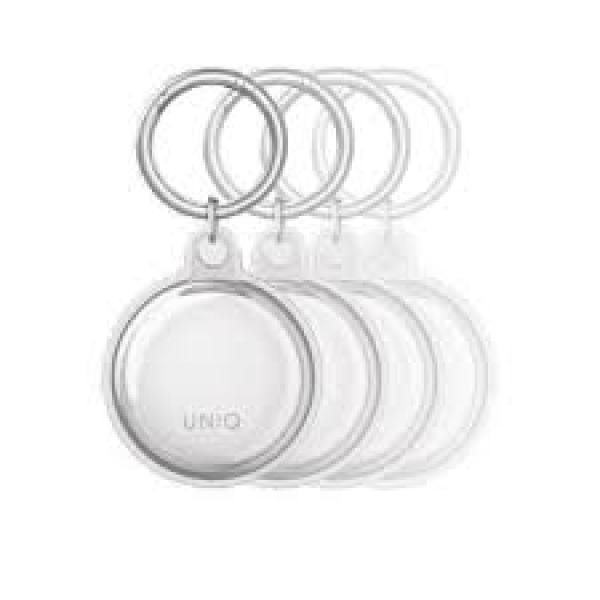Uniq Glase Slim Tpu Airtag Case Glossy Clear (Clear)