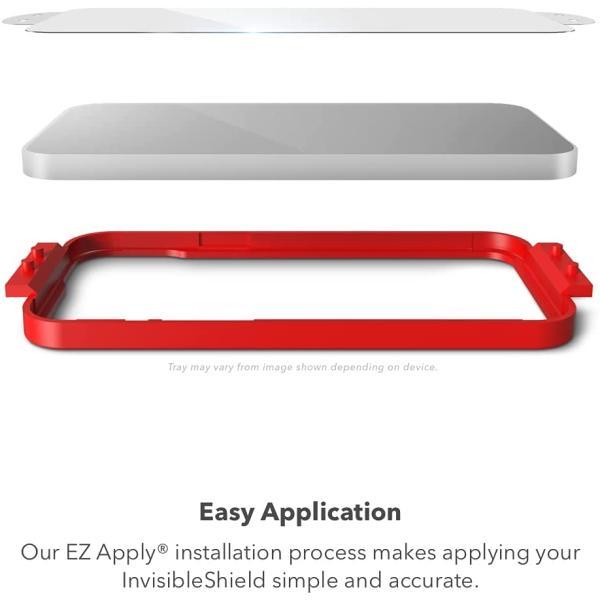 Zagg InvisibleShield Glass Elite Apple iPhone 13 Pro Max (2021 Version) Case Friendly Screen