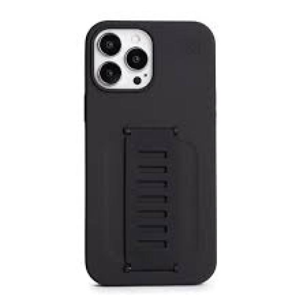 grip2u silicone case for iphone 13 (charcoal)