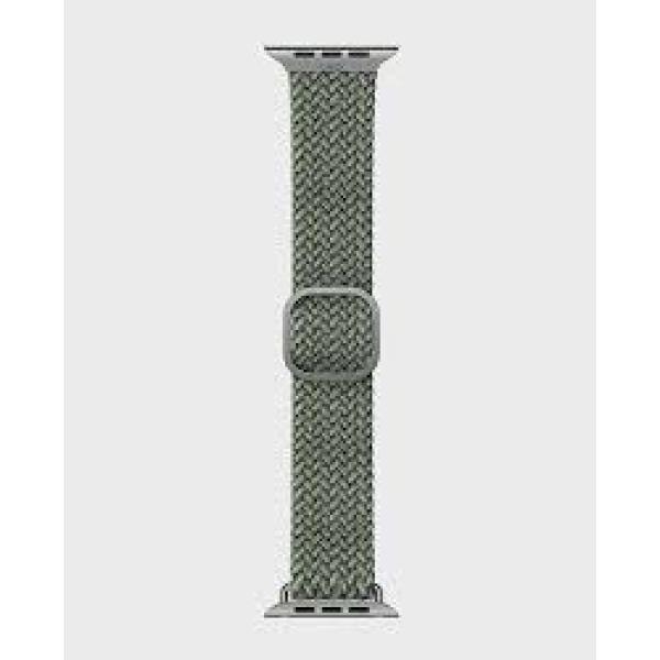 Uniq Aspen Braided Apple Watch Strap 40/38Mm Cypress Green