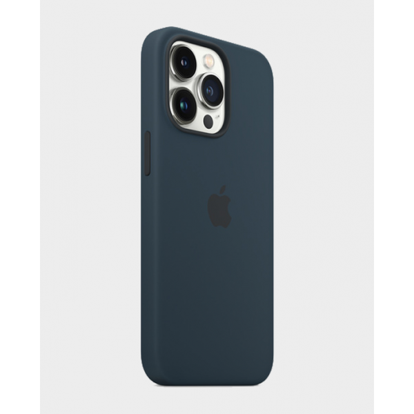 Apple iPhone 13 Pro Max Silicone Case -Abyss Blue
