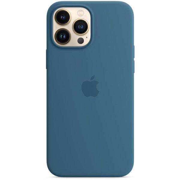 Apple iPhone 13 Pro Max Silicone Case -Blue Jay