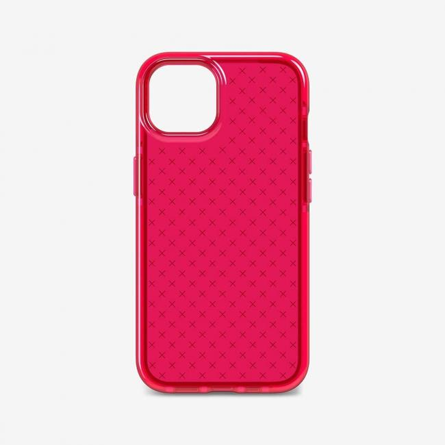 Tech21 Evo Check for iPhone 13 (Rubine Red)