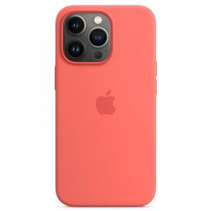 Apple iPhone 13 Pro Max Silicone Case -Chalk Pink